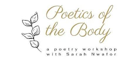 Poetics of the Body tickets
