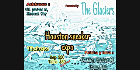 Houston sneaker Expo tickets
