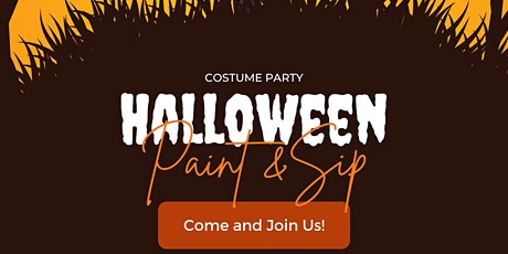Halloween Paint and Sip tickets
