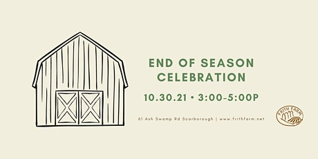 End of Season Celebration with Sugar Hill String Band tickets