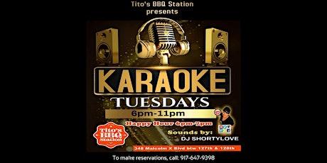 Karaoke Tuesdays tickets