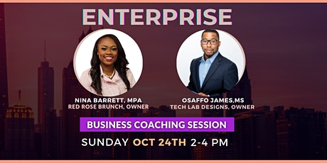 Enterprise: Business Coaching Session tickets