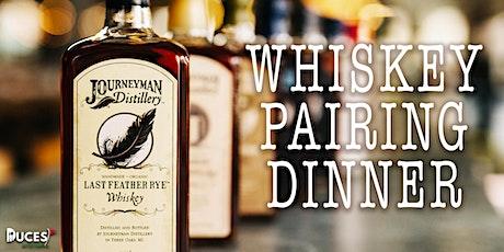 Journeyman Whiskey Pairing Dinner tickets