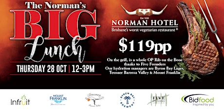 Norman's Big Lunch tickets