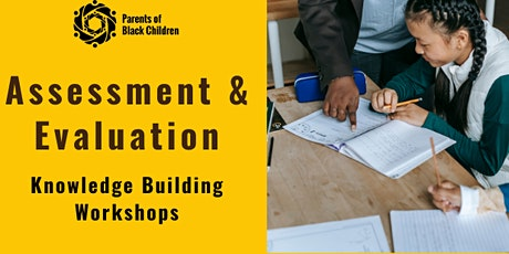 UP Project: Knowledge Building Workshops (Assessment & Evaluation) tickets