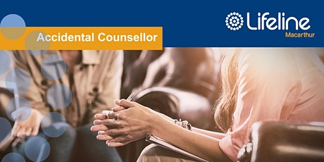 Accidental Counsellor on-line workshop tickets