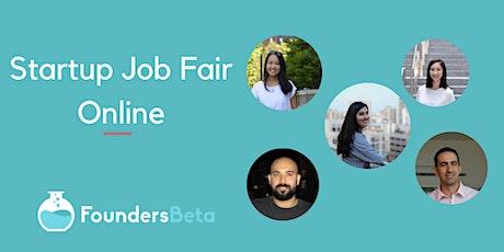 Startup Job Fair Online: Talent Registration tickets