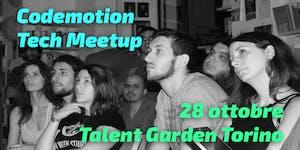 Codemotion Tech Meetup Tour 2015 - Torino