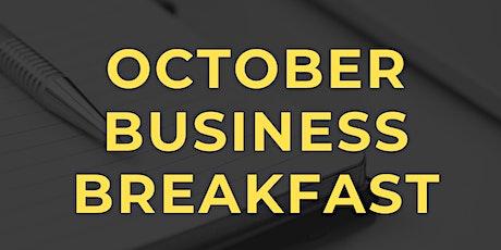 October Business Breakfast tickets