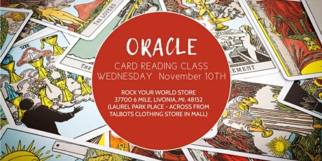 Read Oracle Cards in Just 90 Minutes - Rock Your World Store Livonia! tickets