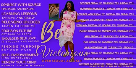 Be Victorious Over Sexual Assault tickets