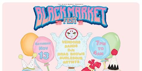 Black Market Fest 2021 tickets
