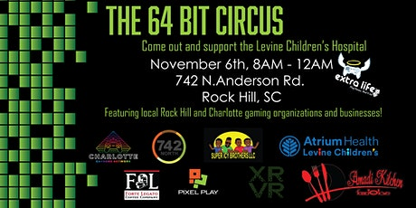 The 64 Bit Circus - Fundraiser for Levine Children's Hospital tickets