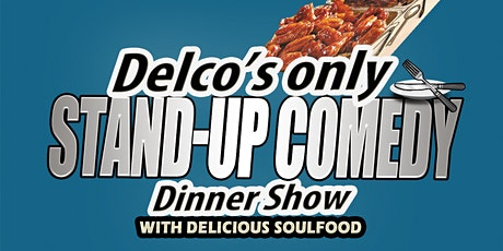 Delco's only Stand-up Comedy dinner show starring Romont Harris from BET tickets