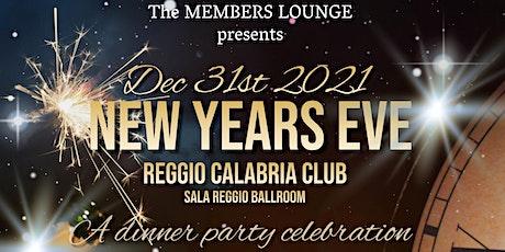 New Years Eve @ Reggio Calabria Club in Sala Reggio Ballroom tickets