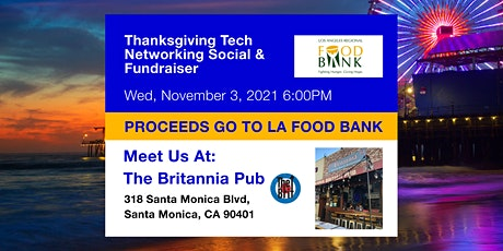 Tech Networking Social and Fundraiser tickets