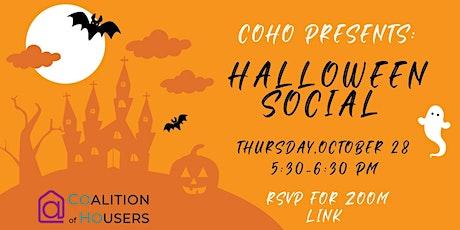 Houser Happy Hour Halloween Social tickets