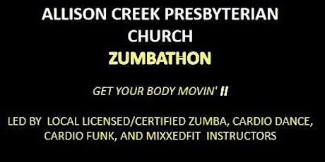 Allison Creek Presbyterian Church Zumbathon Fundraiser tickets