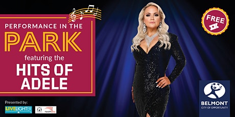 Performances in the Park – Hits of Adele tickets