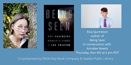 """Elsa Sjunneson, author of """"Being Seen"""" in conversation with Annalee Newitz tickets"""