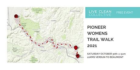 PIONEER WOMEN'S TRAIL WALK tickets