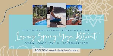 Luxury Yoga Retreat tickets