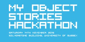 'My Object Stories' Hackathon