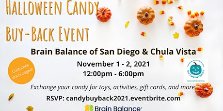 Halloween Candy Buy-Back tickets