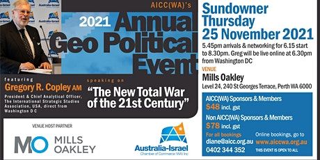 AICC(WA) 2021 Annual Geopolitical Event tickets