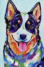 Paint your dog art class tickets
