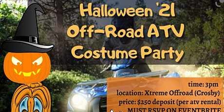Halloween ATV Off-Road Costume Party tickets