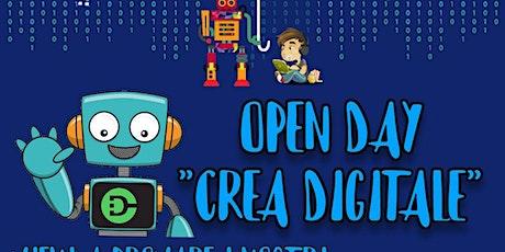 Open Day Lab 8/13anni biglietti