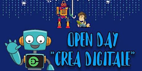 Open DayLab  4/7anni biglietti