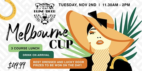 Melbourne Cup at Blind Tiger tickets