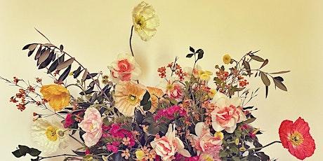 Spring bouquet making workshop tickets