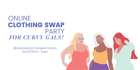 Plus-Size Online Clothing Swap tickets