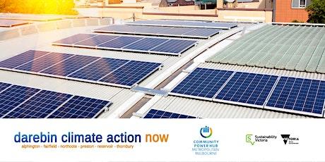 Building Clean Community Energy in Darebin tickets