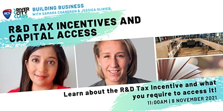 Building Business: R&D Tax Incentives and Capital Access tickets