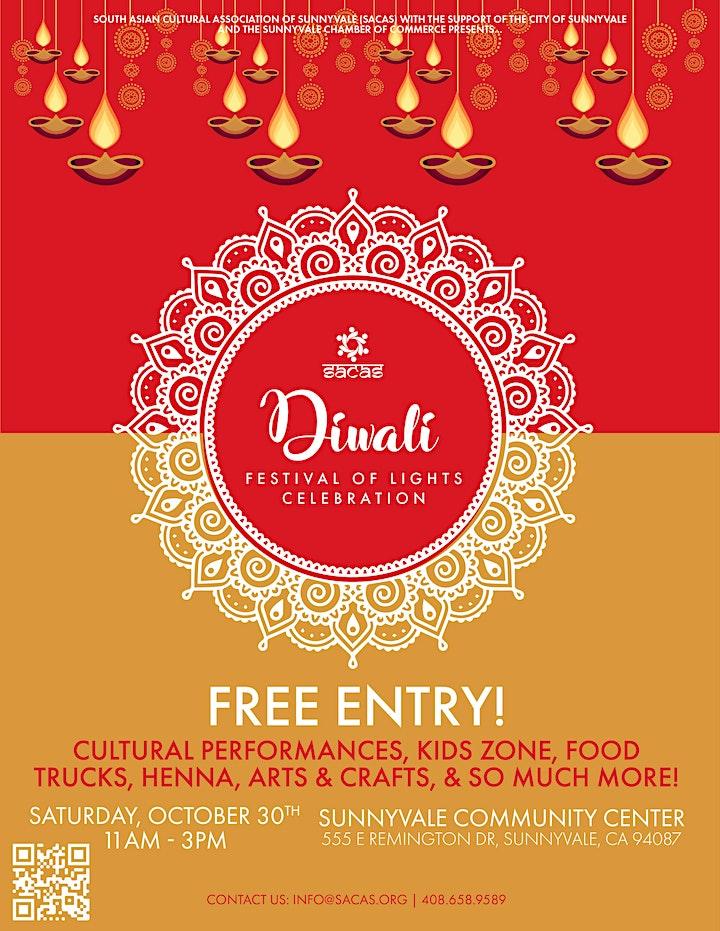 2021 Sunnyvale Diwali Festival - free family event image