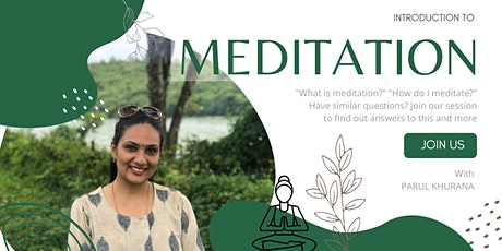 Introduction to Meditation tickets