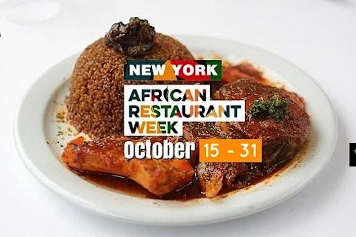 New York African Restaurant Week 2021 image