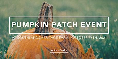 Pumpkin Patch at Southlands Heritage Farm - Client Appreciation Event tickets