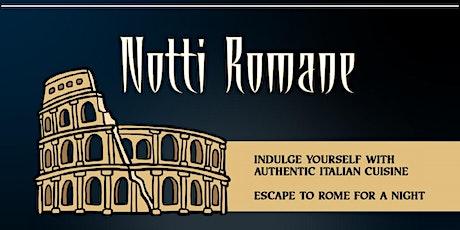 Notti Romane tickets