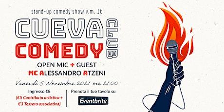 CUEVA Comedy Club #1 biglietti