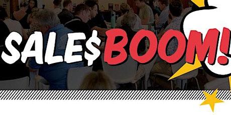 Sales Boom! 2021 tickets