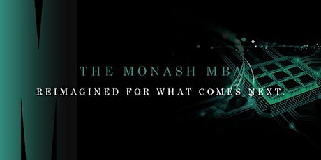 The Monash MBA - Meet the Director  via Zoom (domestic students only) tickets