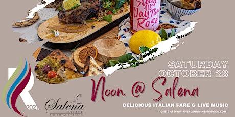 Salena Estate Wines - NOON tickets