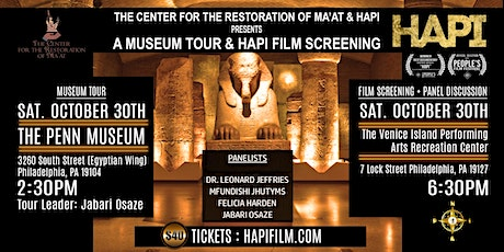 The Center for Restoration of Ma'at and HAPI Museum Tour tickets