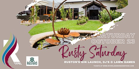 Rustons - Rusty Saturday's tickets