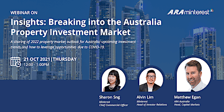 Investment Insights: Deepdive into the Australian Property Market with Us tickets